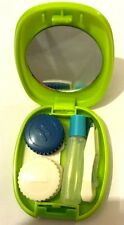 nice Mini Portable Carry Storage Contact Lens Travel Mirror Case Box Holder