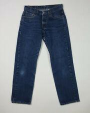 Women's Vintage Levi's 572 Loose Fit Stovepipe USA Dark Wash Denim Jeans 9 Jr