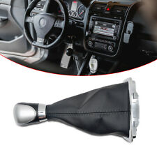 Fit Ford Focus MK2 MK3 5 Speed Gear Shift Knob Gaiter Boot Cover Leather Stick