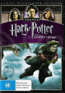 HARRY POTTER & THE GOBLET OF FIRE (YEAR FOUR) - BRAND NEW & SEALED DVD
