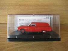 TRAX MODEL TR44B    FORD XL FALCON VAN    Waratah Red    Deceased Estate