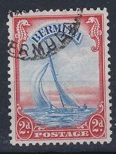 1940 GVI BERMUDA 2d FINE USED SG112a