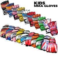 Kids / Junior Grappling MMA Gloves Boxing Punch Bag Fight Muay Thai Training