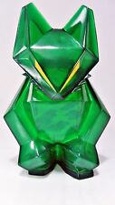 "Michael Air Jordan XX2 Stealth Cat vinyl figure GREEN 4.25""   Brian Flynn Super7"