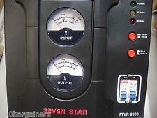 Seven Star 8000 Watt Power Converter Stabilizer 110V 220V Transformer ATVR8000