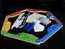 New MARBLES and JOKERS 8-player Board Game set w/ cards (Peg sets available too)