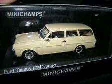 1:43 Minichamps Ford Taunus 12M P4 Break 1962 creme/cream Nr.400086111 OVP