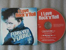 CD-FOREVER YOUNG-I LOVE ROCK'N ROLL-WE WILL ROCK YOU-LANTY(CD SINGLE)2003-2TRACK