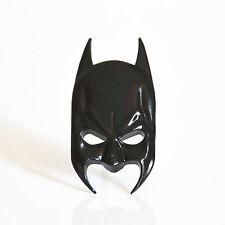 Car Body Metal 3D Black Batman Mask Emblem Badge 3M Glue Decal Sticker For BMW