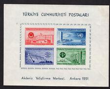 Turkey Souvenir Sheet Scott 1054a