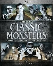 Universal Classic Monsters Complete 30 Film Collection New Sealed Blu-ray