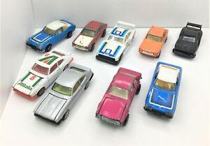 Corgi / Matchbox /Majorette LOT OF 9 * Ford Capri * Standard/Zakspeed* RARE*1:64