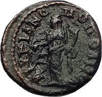 ELAGABALUS Genuine Authentic Ancient 218AD Marcianopolis Roman Coin Tyche i71072