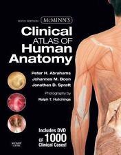 MCMINN'S CLINICAL ATLAS OF HUMAN ANATOMY WITH DVD, 6E (MCMINN'S By Jonathan VG