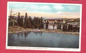 Yellowstone NP Haynes 100 Series PC No. 115 Fountain Hotel Wyoming ~1910 Germany