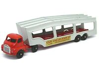 Matchbox Lesney A-2a  Bedford 'S' Type Car Transporter (RARE RED AND GREY)