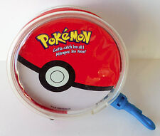 1999 Pokemon Rummy Card Game with Special Clip-on Carry Case Nintendo Vintage