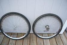 Sears J C Higgins Murray & OTHERS 24 inch Front & Rear Coaster Brake Wheel Set