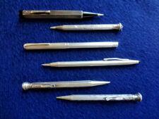 Konvolut Bleistifte Drehbleistifte  Art Deco  aus Silber