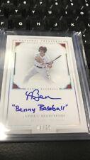 "Andrew Benintendi ""Benny Baseball"" National Treasures Signed Rookie Card! 4/ 25"