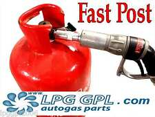 LPG gas bottle filling adaptor with non return valve for added safety autogas