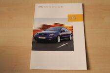 69311) Opel Astra Coupe Linea Blu Prospekt 10/2002