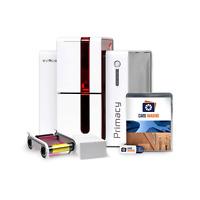 Evolis Primacy Dual Side ID Card Printer Bundle (New - 3 year Warranty)