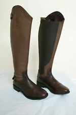 New Equipride Long Leather Riding Boots with Elastic Shaft Adults TOP QUALITY