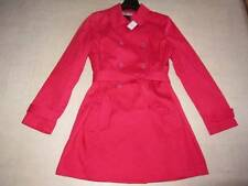 Trench Solid 100% Cotton Coats & Jackets for Women