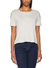 Camisas y tops de mujer de manga corta blancos talla L