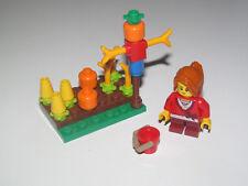 Lego ® City Minifig Figurine Enfant Jardin Légumes + Epouvantail NEW