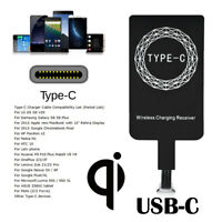 Qi Wireless Type C USB-C Charger Power Charging Receiver For Andriod Phones