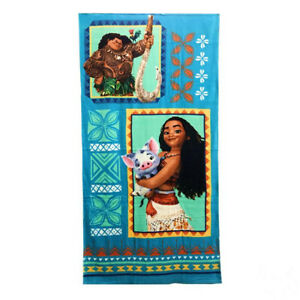 Disney Princess Moana Pua Maui Cotton Beach Bath Towel 75cm*150cm
