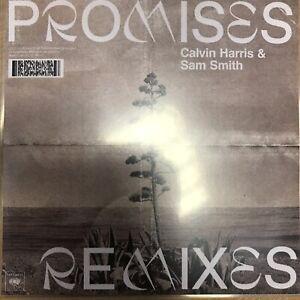 "CALVIN HARRIS FT SAM SMITH ""PROMISES REMIXES PART ONE"" - NEW 8 REMIX PROMO CD"