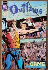 OUTLAWS #5 - Robin Hood - Friedman - McDonnell - DC - 1992 - NO RESERVE!!