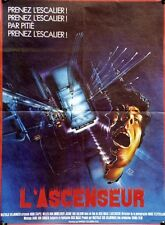 """L'ASCENSEUR (DE LIFT)"" Affiche originale (Dick MAAS / Huub STAPEL)"