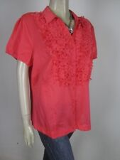 GERRY WEBER Silk Mix Shirt sz 14 - BUY Any 5 Items = Free Post