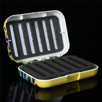 Fly Fishing Tackle Boxes Rainbow Trout Skin Micro-slotted Foam HOT UK
