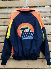 TIDE Vintage Racing Team Jacket Men's Sz Lge.-XL? Orange Blue