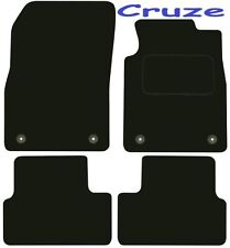 Chevrolet Cruze DELUXE QUALITY Tailored mats 2009 2010 2011 2012 2013 2014 2015
