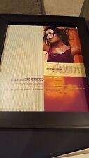 Vanessa Mae Storm Rare Original Promo Poster Ad Framed!