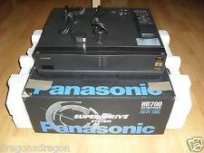 Panasonic nv-hd700 VHS video grabador en OVP, incl. bda&fb, bien cuidadas, 2j. garantía