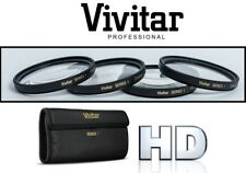4-Pc Vivitar +1/+2/+4/+10 Close Up Macro Lens Kit For Panasonic Lumix DMC-LX7