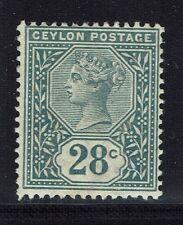 Ceylon SG# 199 - Mint Hinged (Light Vert Crease) - Lot 021216