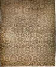 """Hand knotted  Afghan rug. 8'8""""x 12'"""