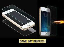 Avant et arrière iPhone 5 5S 100% Véritable verre trempé Film Écran Housse