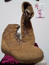 ARMY USAF OCP Scorpion W2 Coyote Military Issue Combat Boots 9W 9 W Wide