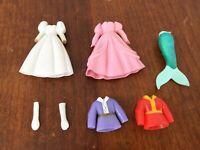 Polly Pocket Disney Princess Ariel The Little Mermaid Clothes & Prince Shirt #13