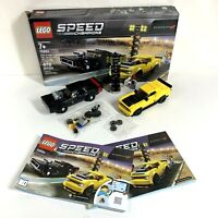 LEGO SPEED CHAMPIONS: 75893 2018 Dodge Challenger 1970 Dodge Charger Assembled!