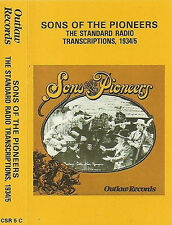 Sons Of The Pioneers ‎The Standard Radio Transcriptions 1934/5 CASSETTE Country